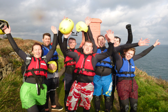 Coasteering Group