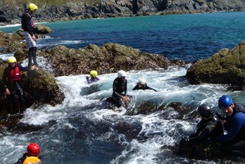 coasteering_group