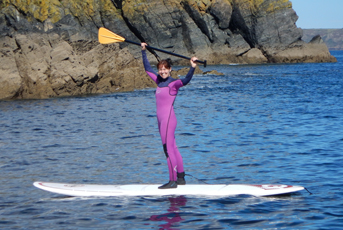 Stand Up Paddle Boarding Cadgwith Cornwall