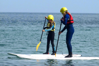 Stand Up Paddle boarding on the Lizard